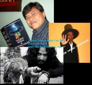 searah jarum jam: Kurnia Effendi, Master Tarno, Limbad