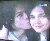 Ariel kiss Luna Maya