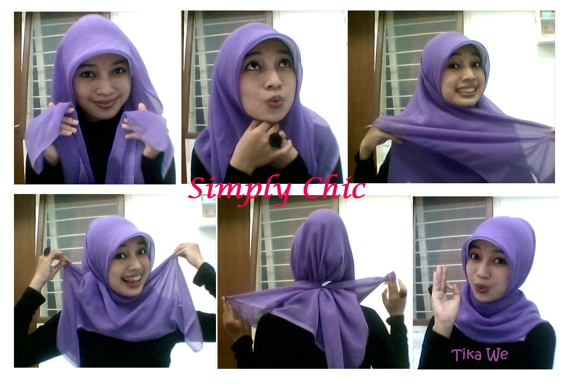 Tutorial Jilbab Paris 1 Wara Wiri Tika We
