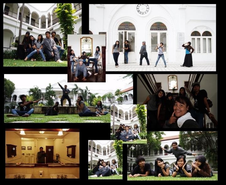 friends at Majapahit Hotel