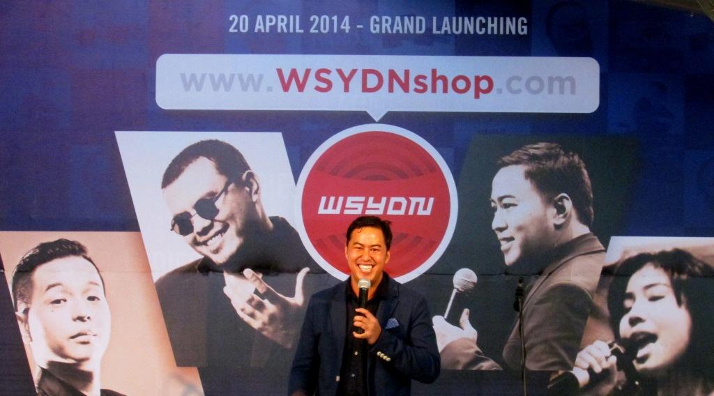 Grand Launching WSYDNshop oleh Pandji Pragiwaksono