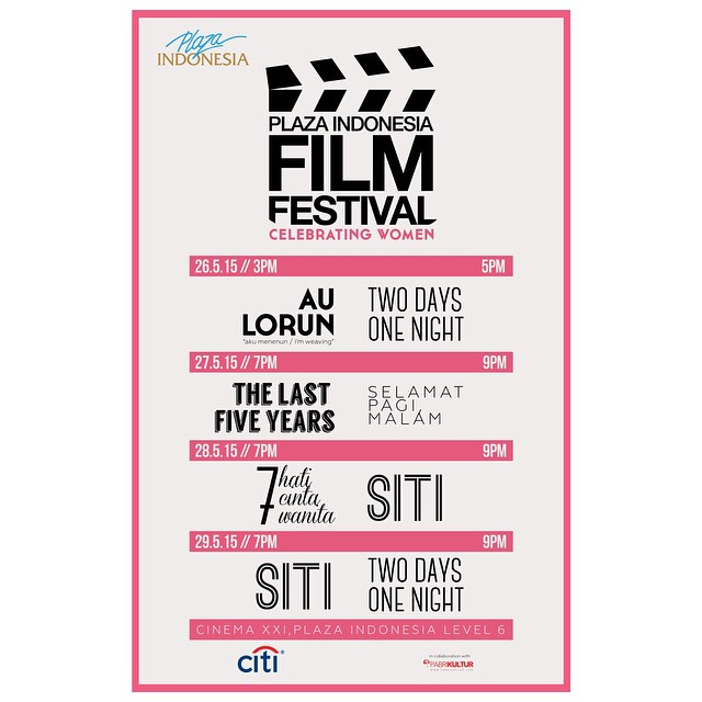 Poster Plaza Indonesia Film Festival