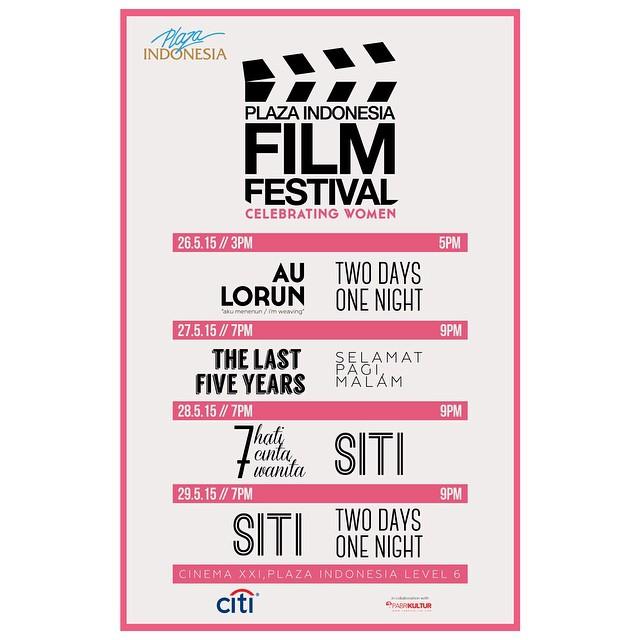 Poster Plaza Indonesia Film Festival