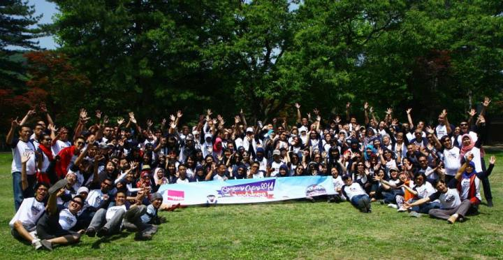 Outing TNS Indonesia di Korea Selatan